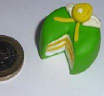 taart groen Kraal taart groen   Lisa Design taart groen